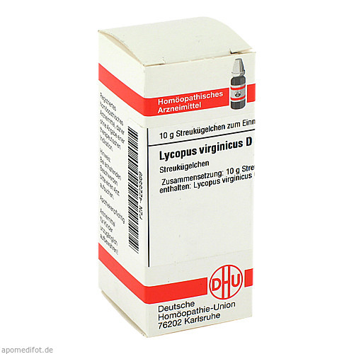 LYCOPUS VIRG D 6, 10 G, Dhu-Arzneimittel GmbH & Co. KG