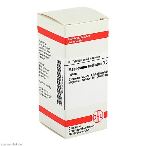 MAGNESIUM ACET D 6, 80 ST, Dhu-Arzneimittel GmbH & Co. KG