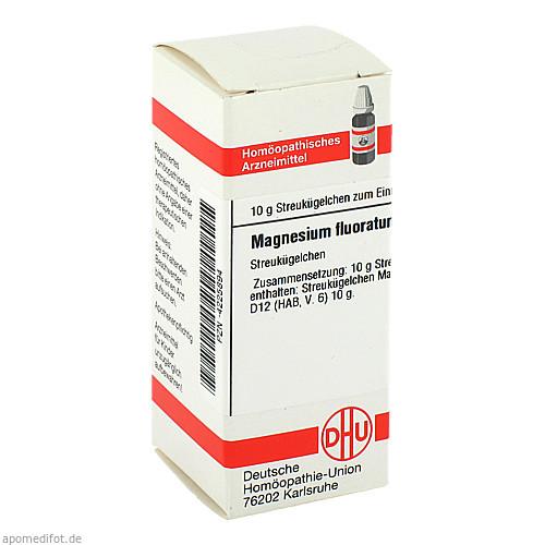MAGNESIUM FLUORATUM D 12 Globuli, 10 G, DHU-Arzneimittel GmbH & Co. KG