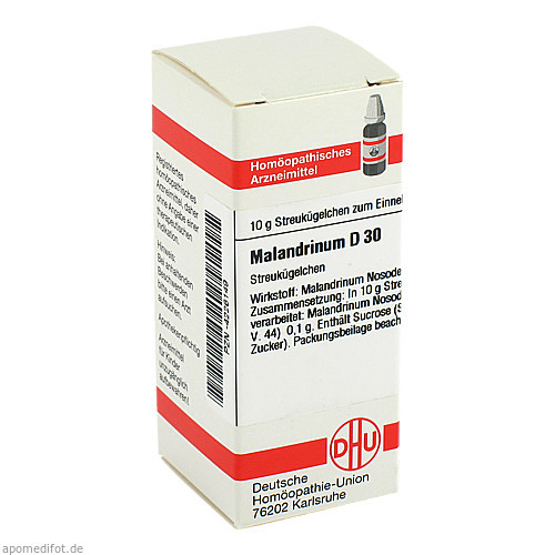 MALANDRINUM D30, 10 G, Dhu-Arzneimittel GmbH & Co. KG