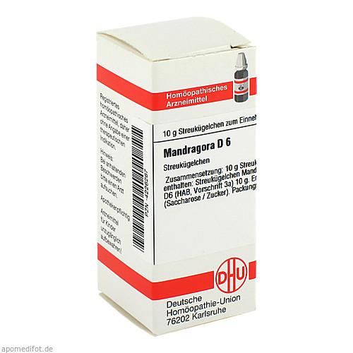 MANDRAGORA D 6, 10 G, Dhu-Arzneimittel GmbH & Co. KG