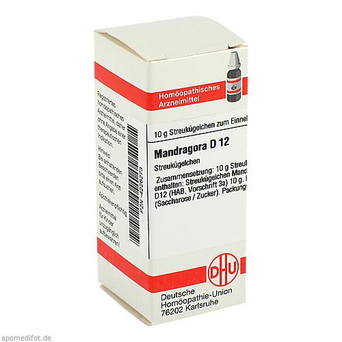 MANDRAGORA D12, 10 G, Dhu-Arzneimittel GmbH & Co. KG