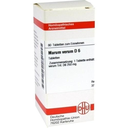 MARUM VERUM D 6, 80 ST, Dhu-Arzneimittel GmbH & Co. KG