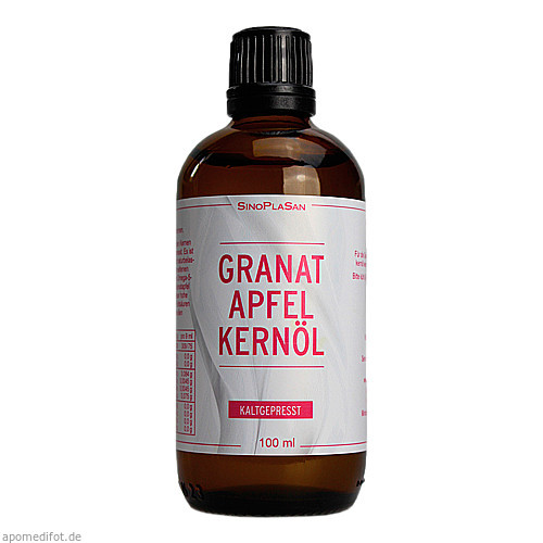 Granatapfelkernöl, 100 ML, Sinoplasan AG