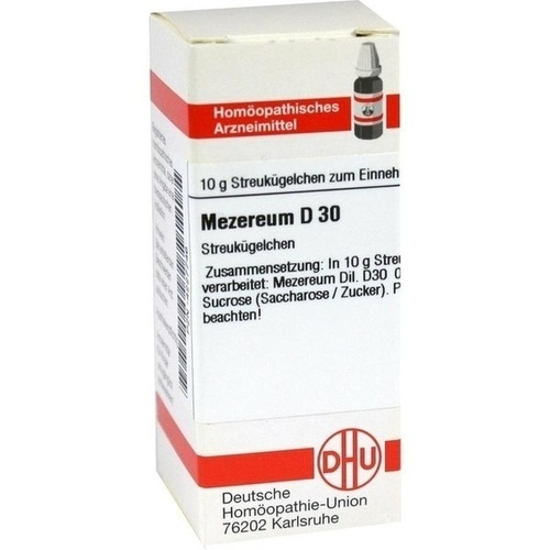 MEZEREUM D30, 10 G, Dhu-Arzneimittel GmbH & Co. KG