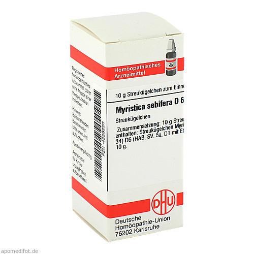 MYRISTICA SEBIF D 6, 10 G, Dhu-Arzneimittel GmbH & Co. KG