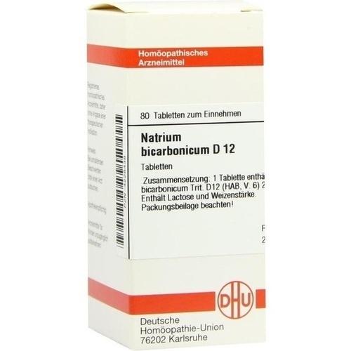 NATRIUM BICARB D12, 80 ST, Dhu-Arzneimittel GmbH & Co. KG