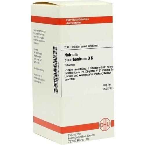 NATRIUM BICARB D 6, 200 ST, Dhu-Arzneimittel GmbH & Co. KG