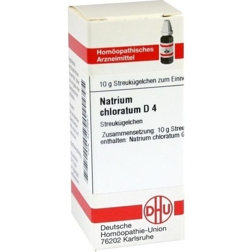 NATRIUM CHLORAT D 4, 10 G, Dhu-Arzneimittel GmbH & Co. KG