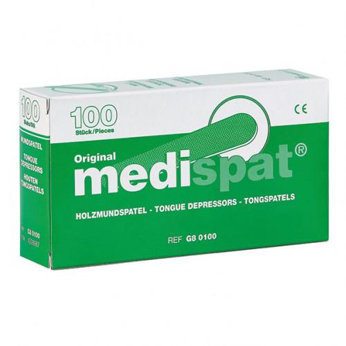 Holzmundspatel Medispat, 100 ST, Diaprax GmbH