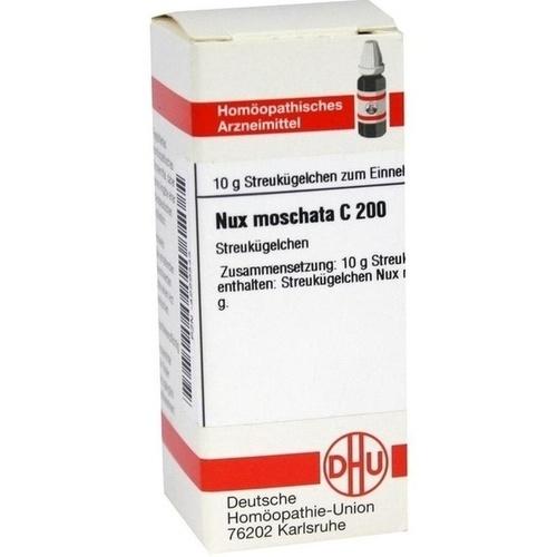 NUX MOSCHATA C200, 10 G, Dhu-Arzneimittel GmbH & Co. KG