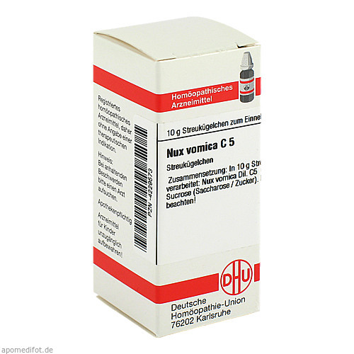 NUX VOMICA C 5, 10 G, Dhu-Arzneimittel GmbH & Co. KG