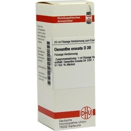 OENANTHE CROCATA D30, 20 ML, Dhu-Arzneimittel GmbH & Co. KG