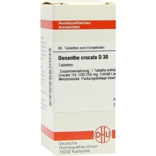 OENANTHE CROCATA D30, 80 ST, Dhu-Arzneimittel GmbH & Co. KG