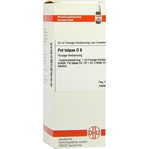 PEL TALPAE D 8, 50 ML, Dhu-Arzneimittel GmbH & Co. KG