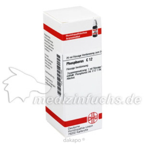 PHOSPHORUS C12, 20 ML, Dhu-Arzneimittel GmbH & Co. KG
