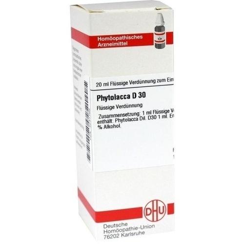 PHYTOLACCA D30, 20 ML, Dhu-Arzneimittel GmbH & Co. KG