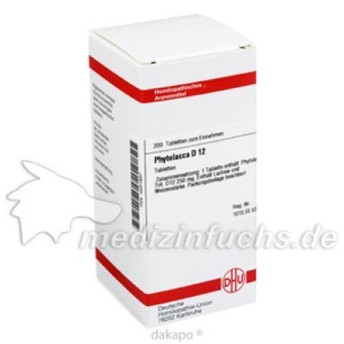 PHYTOLACCA D12, 200 ST, Dhu-Arzneimittel GmbH & Co. KG