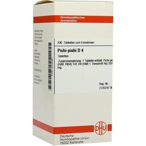 PICHI PICHI D 4, 200 ST, Dhu-Arzneimittel GmbH & Co. KG