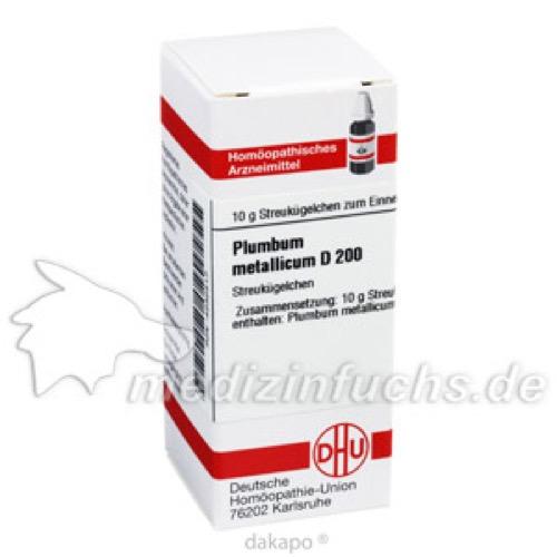 PLUMBUM MET D200, 10 G, Dhu-Arzneimittel GmbH & Co. KG