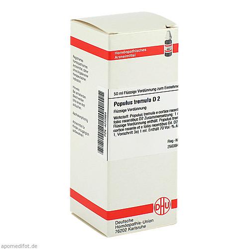 POPULUS TREMULA D 2, 50 ML, Dhu-Arzneimittel GmbH & Co. KG