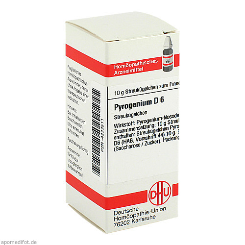 PYROGENIUM D 6, 10 G, Dhu-Arzneimittel GmbH & Co. KG