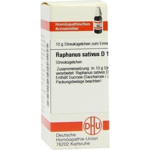 RAPHANUS SATIVUS D12, 10 G, Dhu-Arzneimittel GmbH & Co. KG