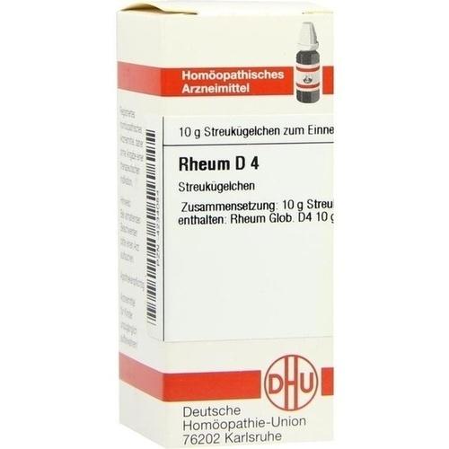 RHEUM D 4, 10 G, Dhu-Arzneimittel GmbH & Co. KG