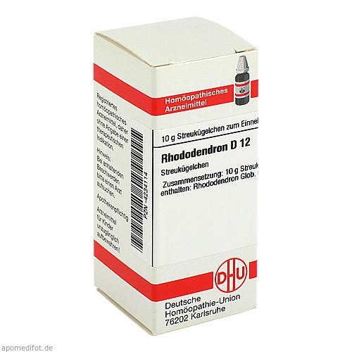 RHODODENDRON D12, 10 G, Dhu-Arzneimittel GmbH & Co. KG