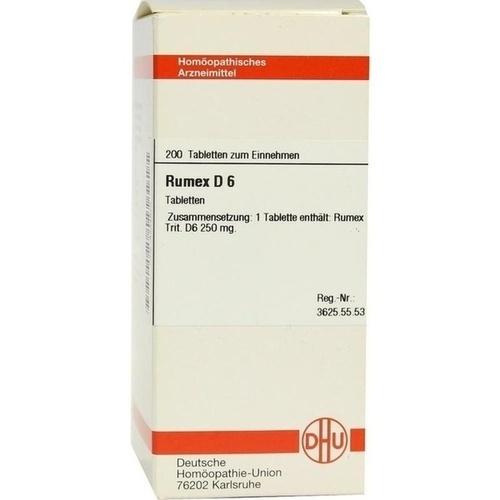 RUMEX D 6, 200 ST, Dhu-Arzneimittel GmbH & Co. KG