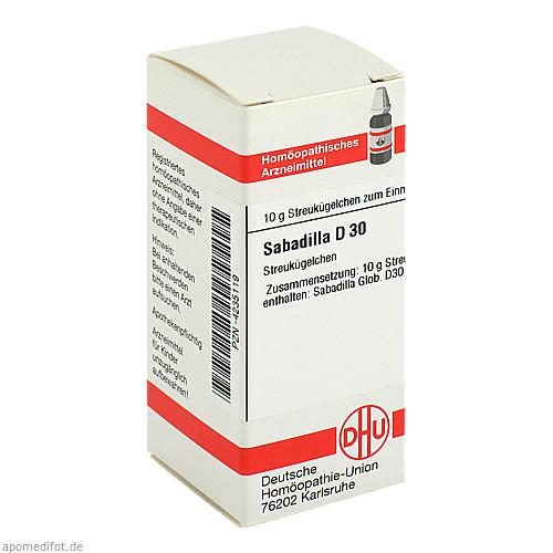 SABADILLA D30, 10 G, Dhu-Arzneimittel GmbH & Co. KG