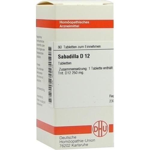 SABADILLA D12, 80 ST, Dhu-Arzneimittel GmbH & Co. KG