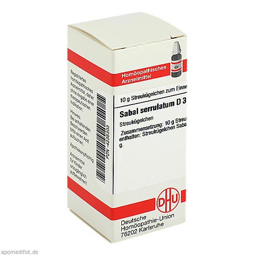 SABAL SERRUL D 3, 10 G, Dhu-Arzneimittel GmbH & Co. KG