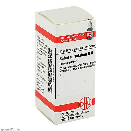 SABAL SERRUL D 6, 10 G, Dhu-Arzneimittel GmbH & Co. KG