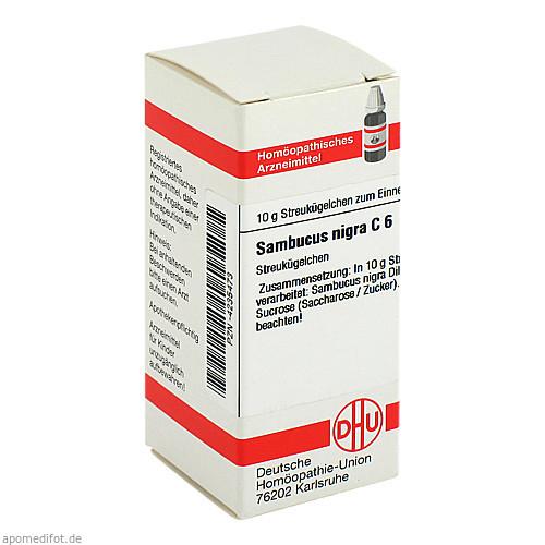 SAMBUCUS NIGRA C 6, 10 G, Dhu-Arzneimittel GmbH & Co. KG