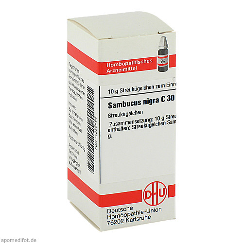 SAMBUCUS NIGRA C30, 10 G, Dhu-Arzneimittel GmbH & Co. KG