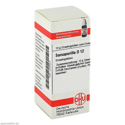 SARSAPARILLA D12, 10 G, Dhu-Arzneimittel GmbH & Co. KG