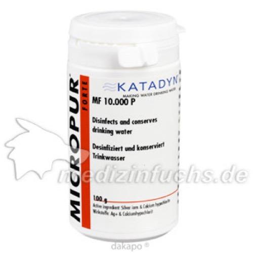 Micropur Forte MF 10000P, 100 G, Katadyn Deutschland GmbH