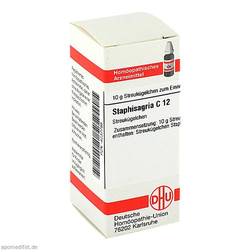 STAPHISAGRIA C12, 10 G, Dhu-Arzneimittel GmbH & Co. KG