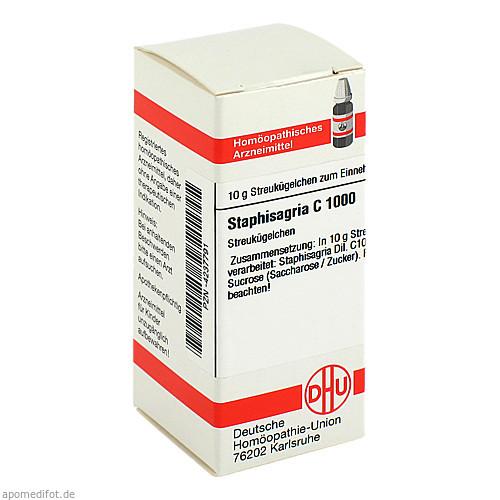STAPHISAGRIA C1000, 10 G, Dhu-Arzneimittel GmbH & Co. KG