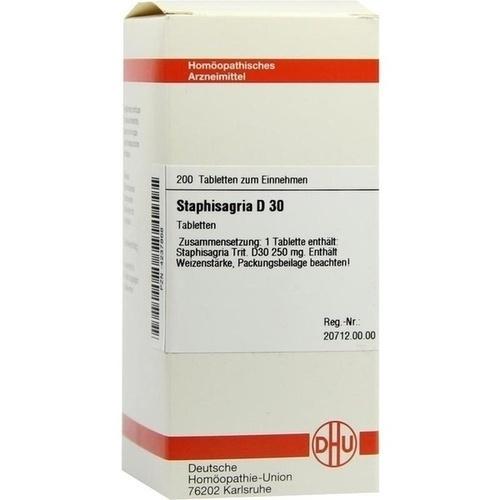 STAPHISAGRIA D30, 200 ST, Dhu-Arzneimittel GmbH & Co. KG
