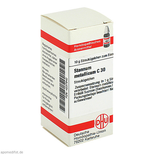 STANNUM MET C30, 10 G, Dhu-Arzneimittel GmbH & Co. KG