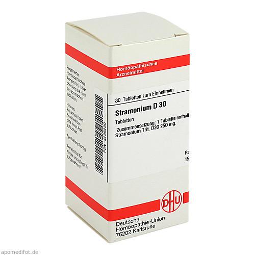 STRAMONIUM D30, 80 ST, Dhu-Arzneimittel GmbH & Co. KG