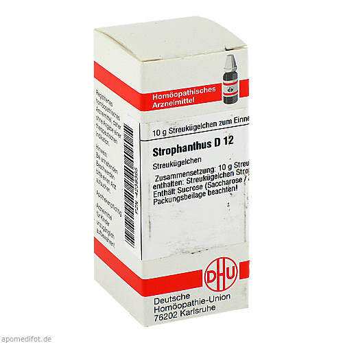 STROPHANTHUS D12, 10 G, Dhu-Arzneimittel GmbH & Co. KG