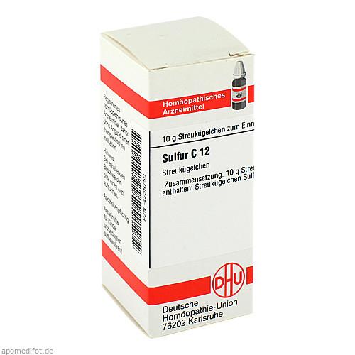 SULFUR C12, 10 G, Dhu-Arzneimittel GmbH & Co. KG