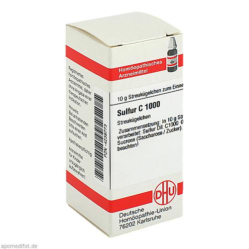 SULFUR C1000, 10 G, Dhu-Arzneimittel GmbH & Co. KG