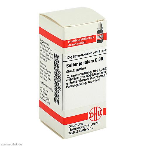 SULFUR JODAT C30, 10 G, Dhu-Arzneimittel GmbH & Co. KG