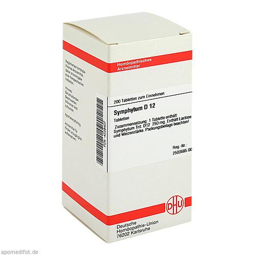 SYMPHYTUM D12, 200 ST, Dhu-Arzneimittel GmbH & Co. KG