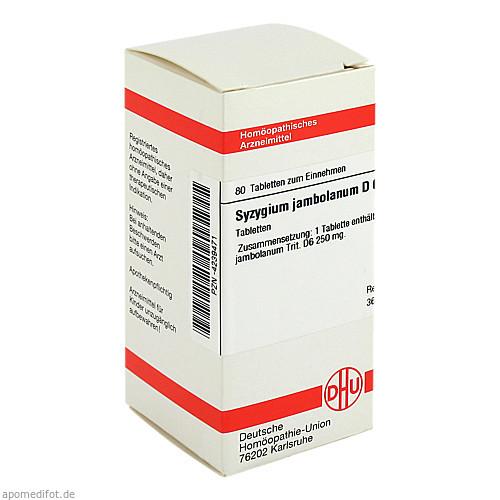 SYZYGIUM JAMB D 6, 80 ST, Dhu-Arzneimittel GmbH & Co. KG