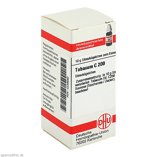 TABACUM C200, 10 G, Dhu-Arzneimittel GmbH & Co. KG